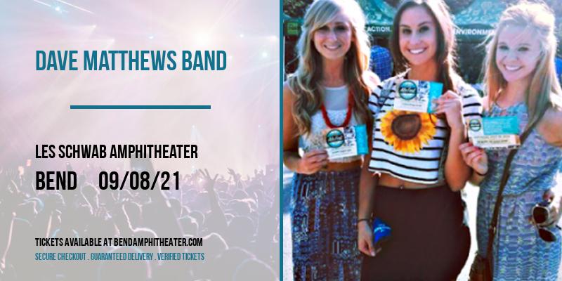 Dave Matthews Band at Les Schwab Amphitheater