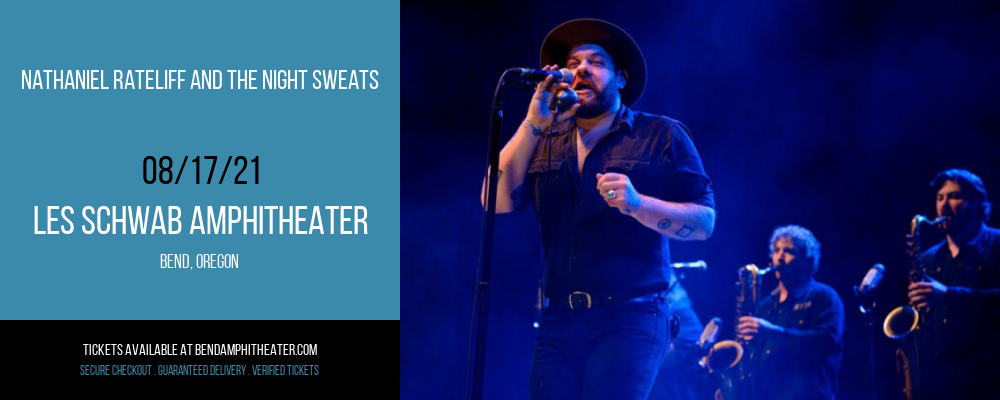 Nathaniel Rateliff and The Night Sweats at Les Schwab Amphitheater