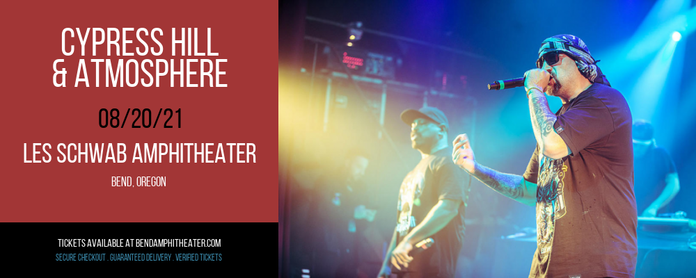 Cypress Hill & Atmosphere at Les Schwab Amphitheater