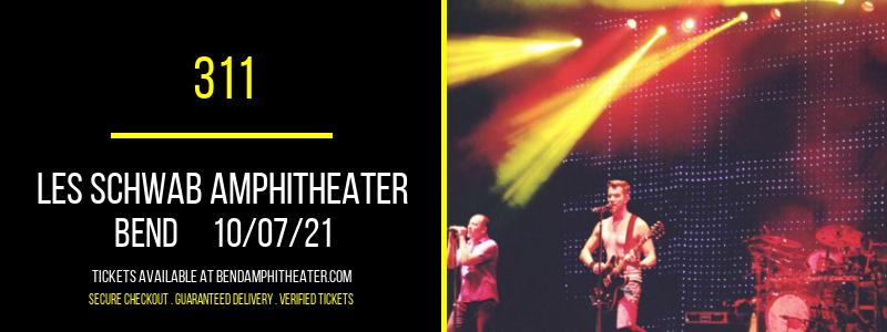 311 at Les Schwab Amphitheater