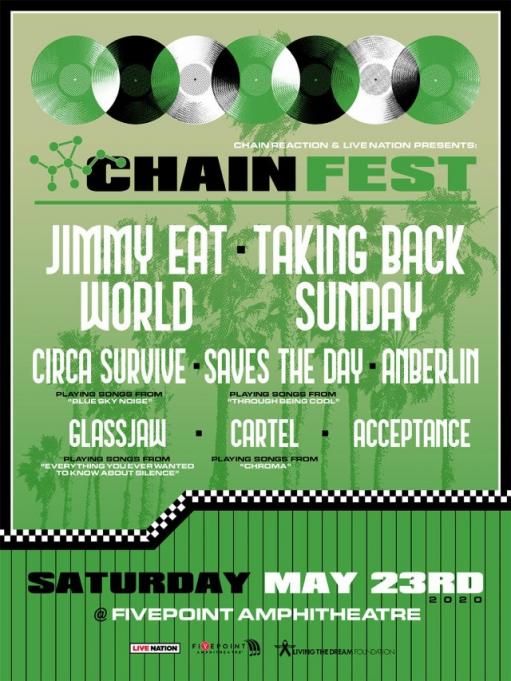 Jimmy Eat World & Taking Back Sunday at Les Schwab Amphitheater